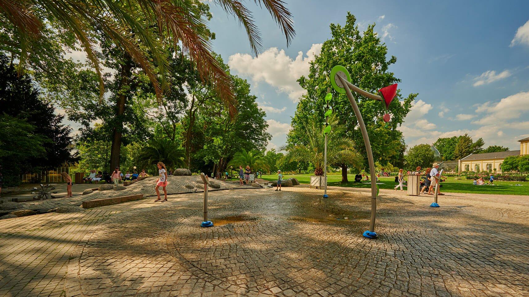 Frankfurt lichterfest palmengarten Palmengarten Frankfurt: